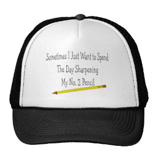 No. 2 Pencil T-Shirts & Gifts Trucker Hat
