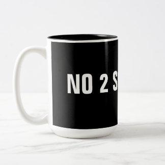 NO 2 SOCIALISM  mug