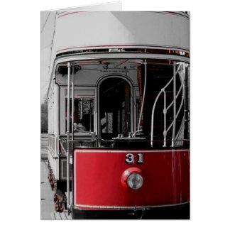 No 31 Tram Greeting Card