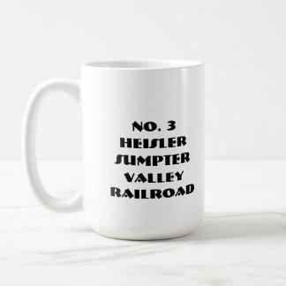 No. 3 HeislerSumpter Valley Railroad Coffee Mug
