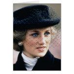 No.44 Princess Diana France 1988 Greeting Card