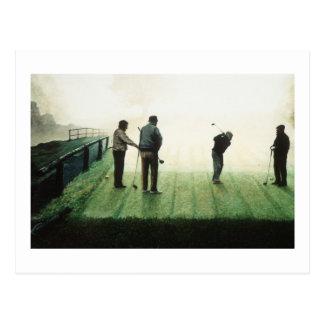 No.4 'Autumn morning' by Ron McGill Postcard