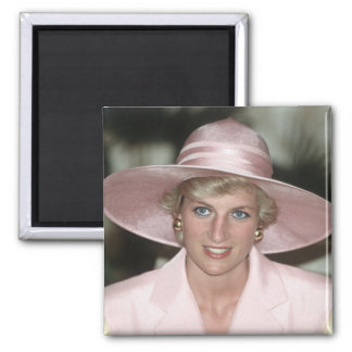 No.70 Princess Diana Cameroon 1990 Square Magnet