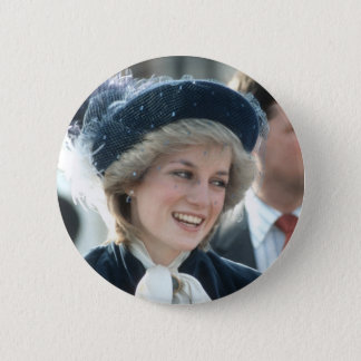 No.98 Princess Diana Wantage 1983 2 Inch Round Button