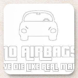 No airbags, we die like real man coaster