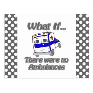 No Ambulances Postcard