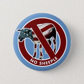No American Sheeple Button