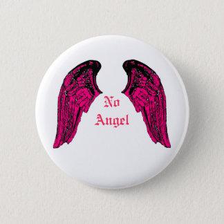 no angel 2 inch round button