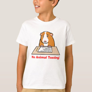 No Animal Testing! T-Shirt