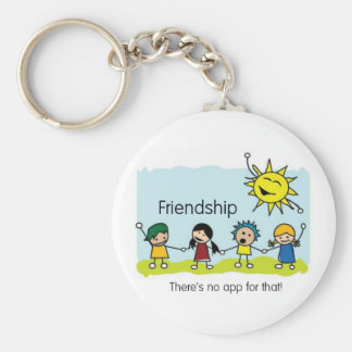 No App for Friendship Keychain
