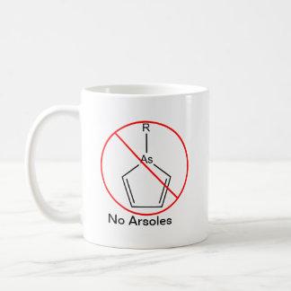 No Arsoles! Basic White Mug