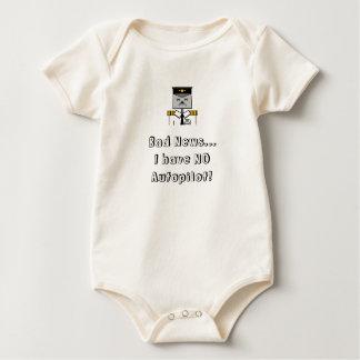 No autopilot baby grow baby bodysuit