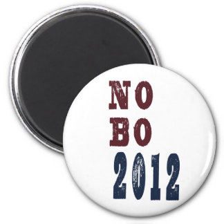 No B O 2012 Election Tee Magnet