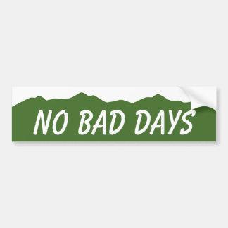 No Bad Days Colorado Bumper Sticker