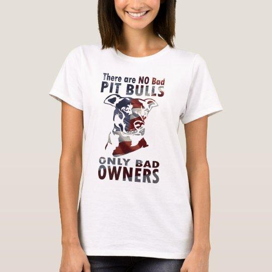 No bad pit bulls af2a t shirt for Pitbull mom af shirt