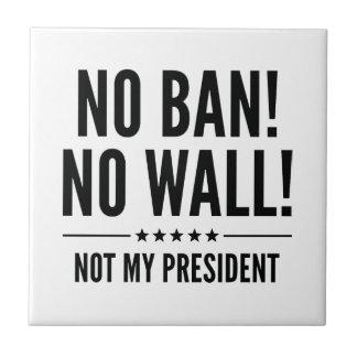 No Ban! No Wall! Tile