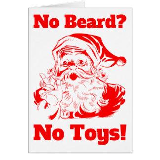 No Beard No Toys Card