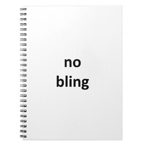 no bling1 jGibney The MUSEUM Zazzle Gifts Notebook