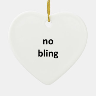 no bling36 jGibney The MUSEUM Zazzle Gifts Ceramic Heart Ornament