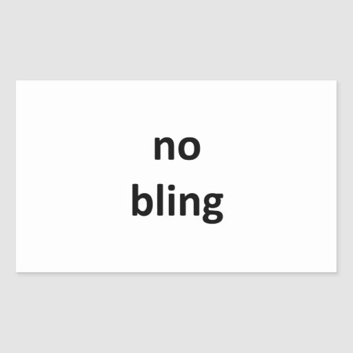 no bling36 jGibney The MUSEUM Zazzle Gifts Rectangle Stickers