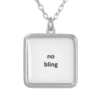 no bling3 jGibney The MUSEUM Zazzle Gifts Personalized Necklace