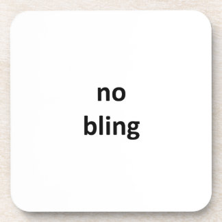 no bling jGibney The MUSEUM Zazzle Gifts.png Drink Coasters
