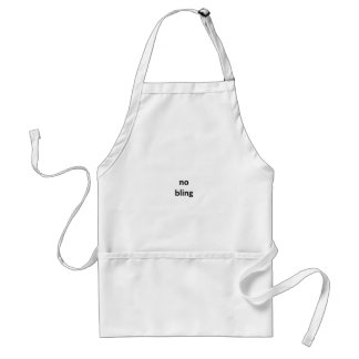 no bling jGibney The MUSEUM Zazzle Gifts.png Standard Apron