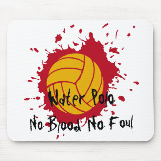 No Blood No Foul Mouse Pad