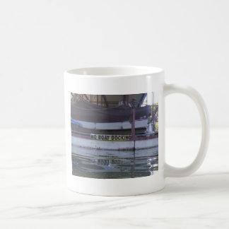 No Boating Basic White Mug