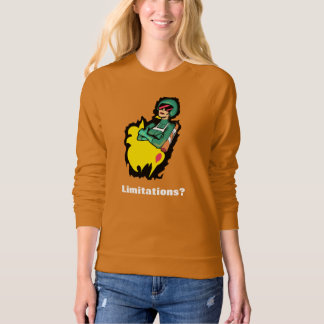 NO BORDERS LIMITLESS JETPACK by Jetpackcorps Sweatshirt