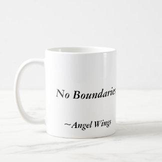 No Boundaries, Mug, James Ryan, Angel Wings Coffee Mug