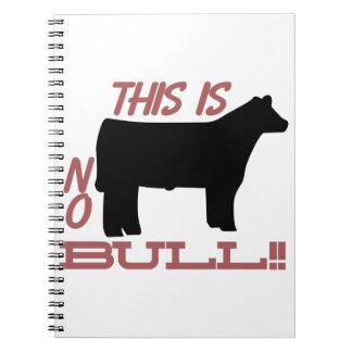 No Bull! Notebook