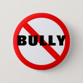 No Bully 2 Inch Round Button