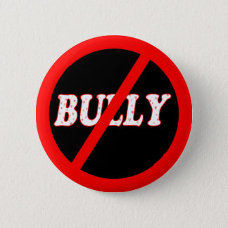 No Bully Zone 2 Inch Round Button