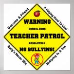 No Bullying Aloud Poster