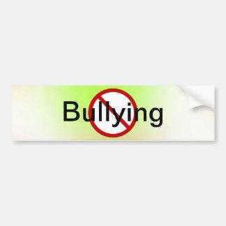 No Bullying Bumper Sticker