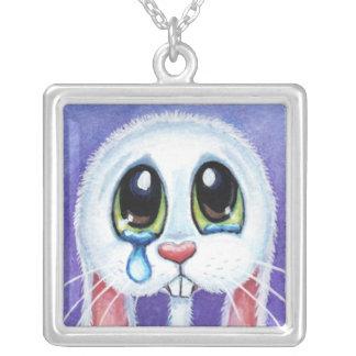 No Bunny Loves Me | Sad Rabbit Pendant