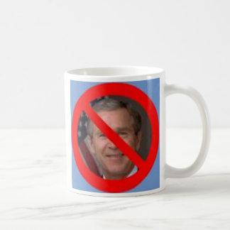 No Bush Classic White Coffee Mug