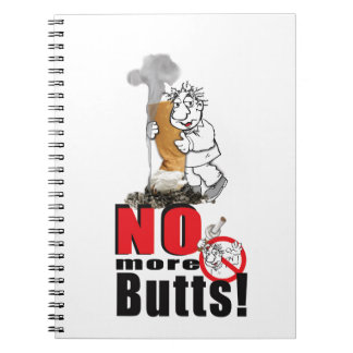 NO BUTTS - Stop Smoking Notebook