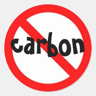 no carbon Sticker