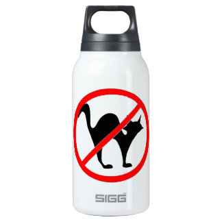 No Cats?! Insulated Water Bottle