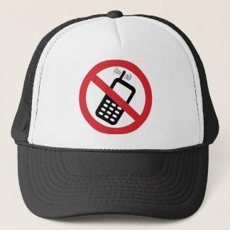 No Cell Phones Trucker Hat