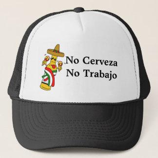 No Cerveza No Trabajo Trucker-Styled Hat