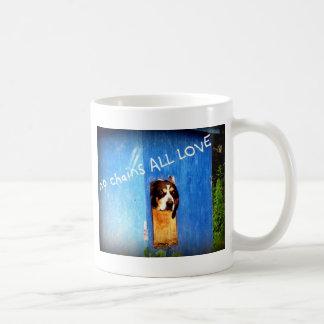 no chains ALL LOVE rescue Coffee Mug