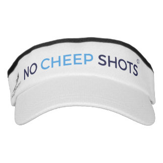 No Cheep Shots Tweet Visor