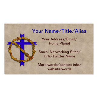 No Christian Nuts Business Card