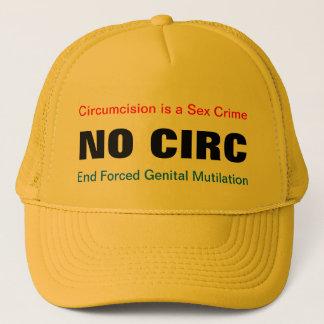 NO CIRC NOCIRC Circumcision is a Sex Crime hat