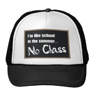 No Class Mesh Hat