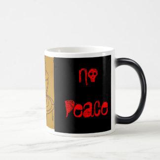 No Coffee No Peace Morphing Mug