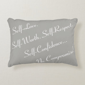 No Compromise Accent Pillow - P1